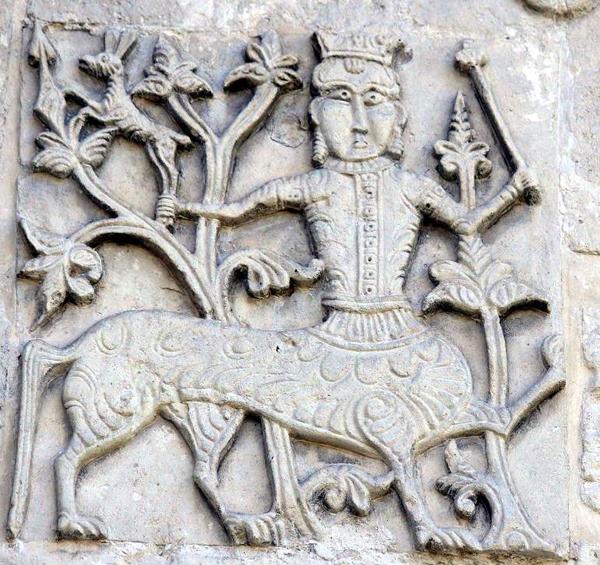 Белокаменная-резьба 11ек, Храм Юрьев-Польских