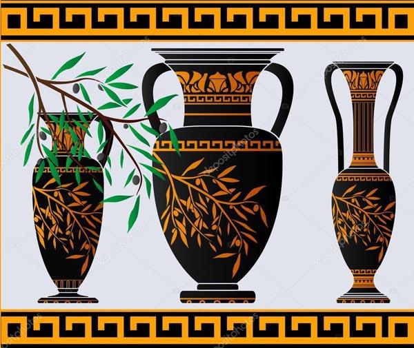 вазы с оливками