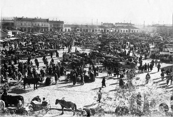 Симферопольский рынок. 1914 год