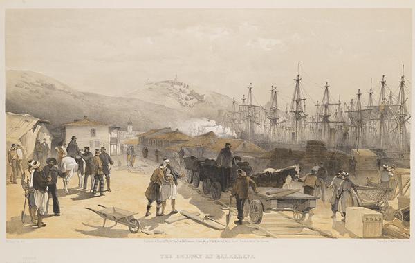 железная дорога в балаклаву-Simpson, William, 1823-1899