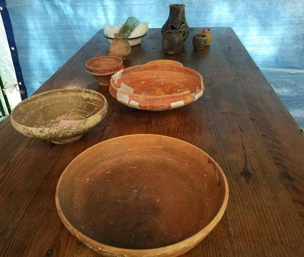 краснолаковая посуда