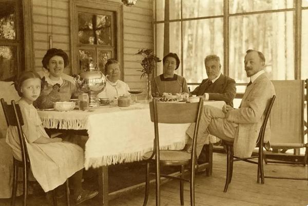 чаепитие 20-век