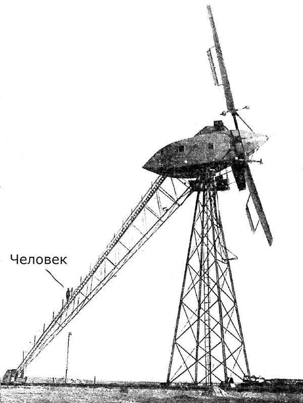 1931 год Балаклавская ветроэлектрическая станция