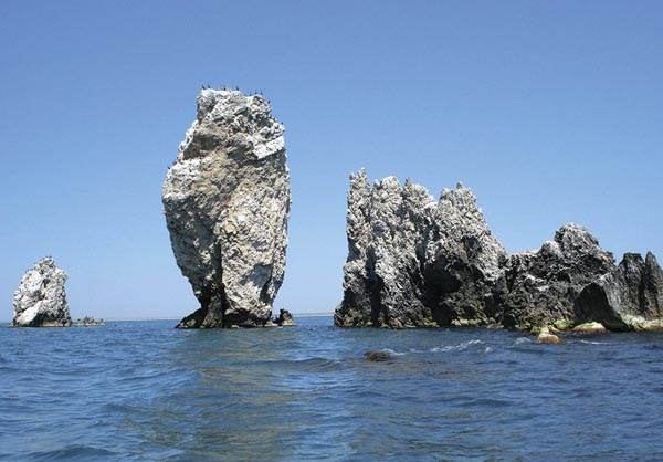 Скалы корабли Опук Крым