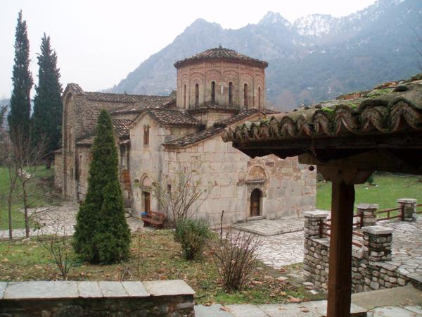Church Porta Panagia-Фесалия