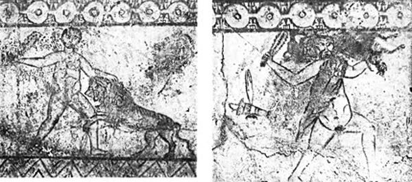 геракл и немейский лев