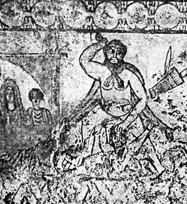 геракл и царь Диомед