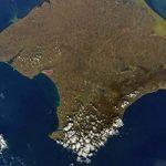 Шкаплеров сфотографировал Крым из космоса